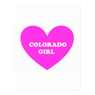 Carte Postale Le Colorado