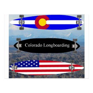 Carte Postale Le Colorado Longboarding