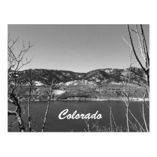 Carte Postale Le Colorado noir et blanc
