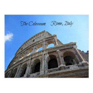 Carte Postale Le Colosseum à Rome, Italie