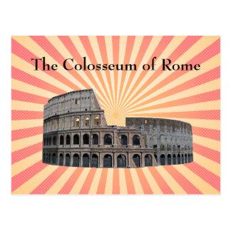 Carte postale : Le Colosseum de Rome