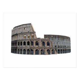 Carte Postale Le Colosseum de Rome : modèle 3D :