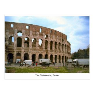 Carte Postale Le Colosseum, Rome