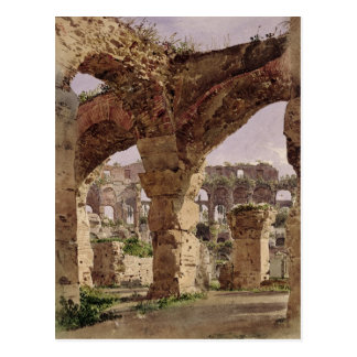 Carte Postale Le Colosseum, Rome, 1835