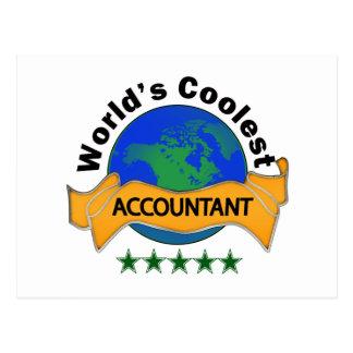 Carte Postale Le comptable le plus frais du monde