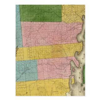 Carte Postale Le comté de Clinton
