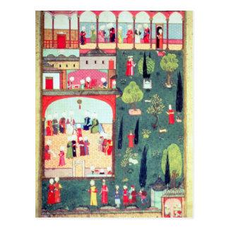 Carte Postale Le Conseil des ministres au palais de Topkapi