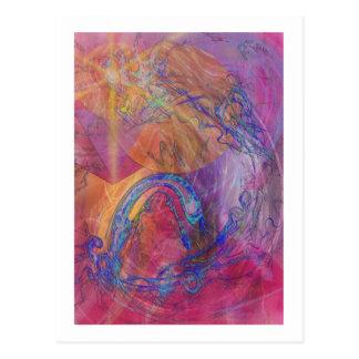 Carte Postale Le conte du dragon