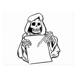Carte Postale le crâne
