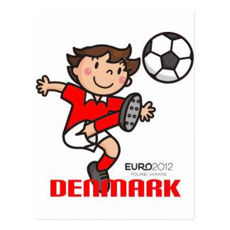 Carte Postale Le Danemark - euro 2012
