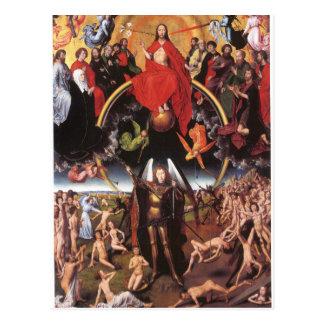 Carte Postale Le dernier jugement. Hans Memling ; c. 1467-1471