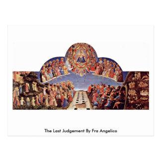 Carte Postale Le dernier jugement par ATF Angelico