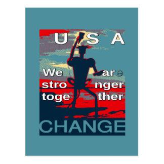 Carte Postale Le dernier slogan de campagne de Hillary Clinton