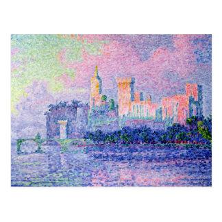 Carte Postale Le DES Papes, Avignon, 1900 de château