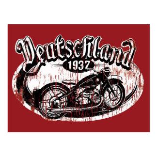 Carte Postale Le Deutschland Motowear