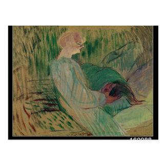 Carte Postale Le divan, Rolande, 1894