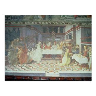 Carte Postale Le festin de Herod, du cycle des vies de