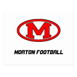 Carte Postale Le football de Morton JFL
