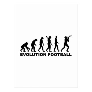 Carte Postale Le football d'évolution