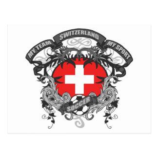 Carte Postale Le football Suisse