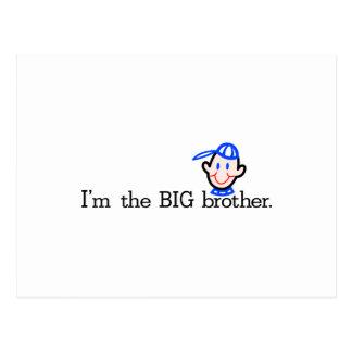 Carte Postale Le frère