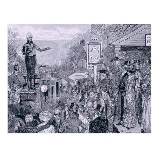 Carte Postale Le Général Jackson, président désigné