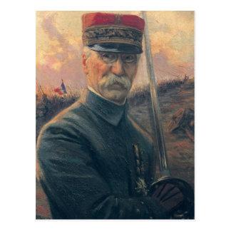 Carte Postale Le Général Joseph Gallieni