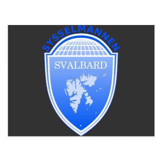 Carte Postale le Gouverneur le Svalbard, Norvège