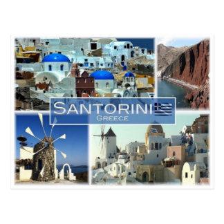 Carte Postale Le GR Grèce - Santorini -
