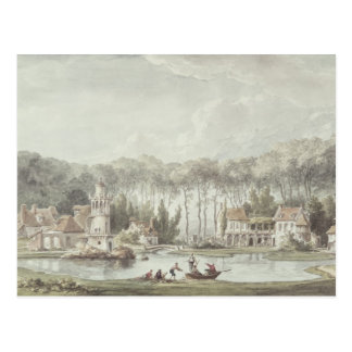 Carte Postale Le Hameau, petit Trianon, 1786