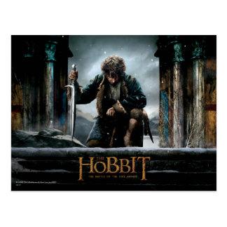 Carte Postale Le Hobbit - affiche de film de BILBO BAGGINS™