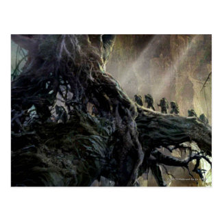 Carte Postale Le Hobbit : Désolation d'art de concept de Smaug