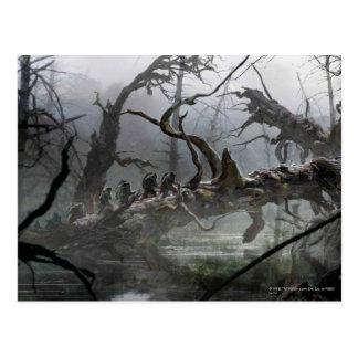 Carte Postale Le Hobbit : Désolation de l'art 4 de concept de