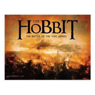 Carte Postale Le Hobbit : La BATAILLE du logo de CINQ ARMIES™