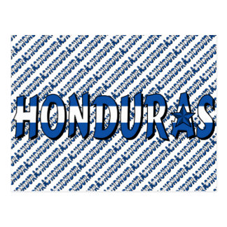 Carte Postale Le Honduras