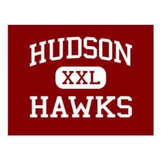 Carte Postale Le Hudson - faucons - haut - le Hudson le