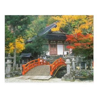 Carte Postale Le Japon, Nara, temple de Ryuzenji