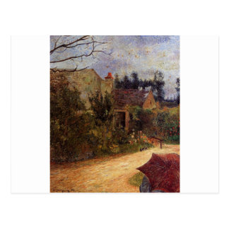 Carte Postale Le jardin de Pissarro, Pontoise par Paul Gauguin
