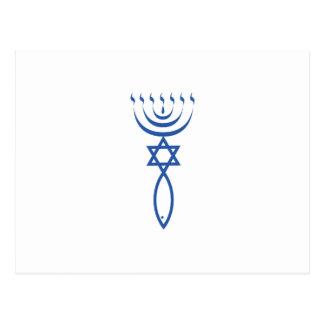 Carte Postale Le joint juif du Messie de Jérusalem