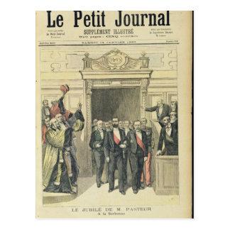 Carte Postale Le jubilé de Louis Pasteur chez le Sorbonne