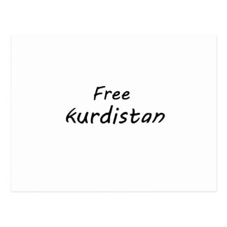 Carte Postale Le Kurdistan libre