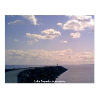Carte Postale Le lac Supérieur Minnesota