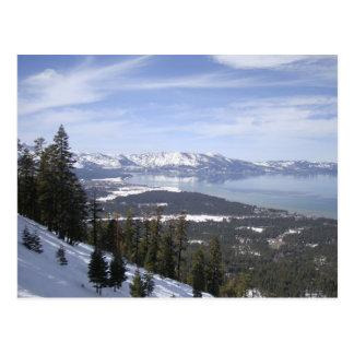 Carte Postale Le lac Tahoe