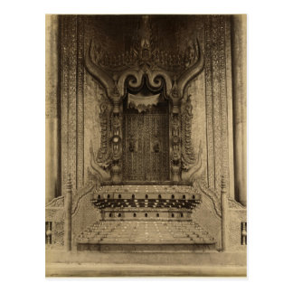Carte Postale Le Le-ha-thana ou le trône des lions