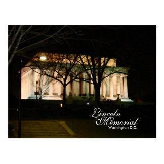 Carte Postale Le Lincoln Memorial, DC de Washington