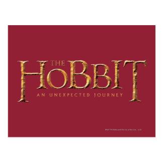 Carte Postale Le logo de Hobbit texturisé