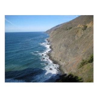Carte Postale Le long de la route de Côte Pacifique