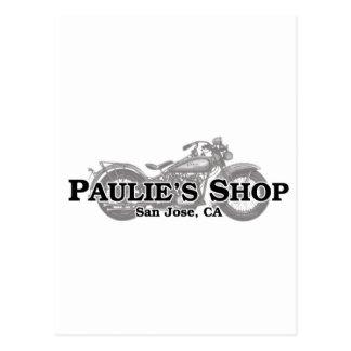 Carte Postale Le magasin de Paulie