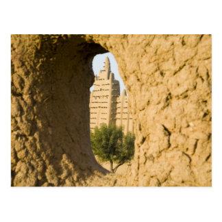 Carte Postale Le Mali, Djenne. Mosquée grande 2