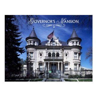 Carte Postale Le manoir du Gouverneur, Salt Lake City, Utah